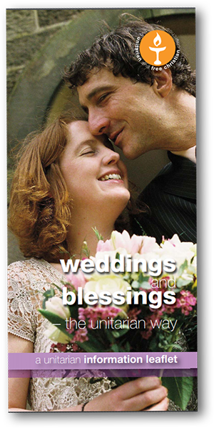 Leicester Unitarians Great Meeting Leaflet Weddings