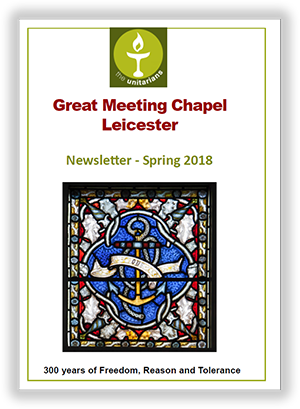 Leicester Unitarians Great Meeting NEWSLETTER