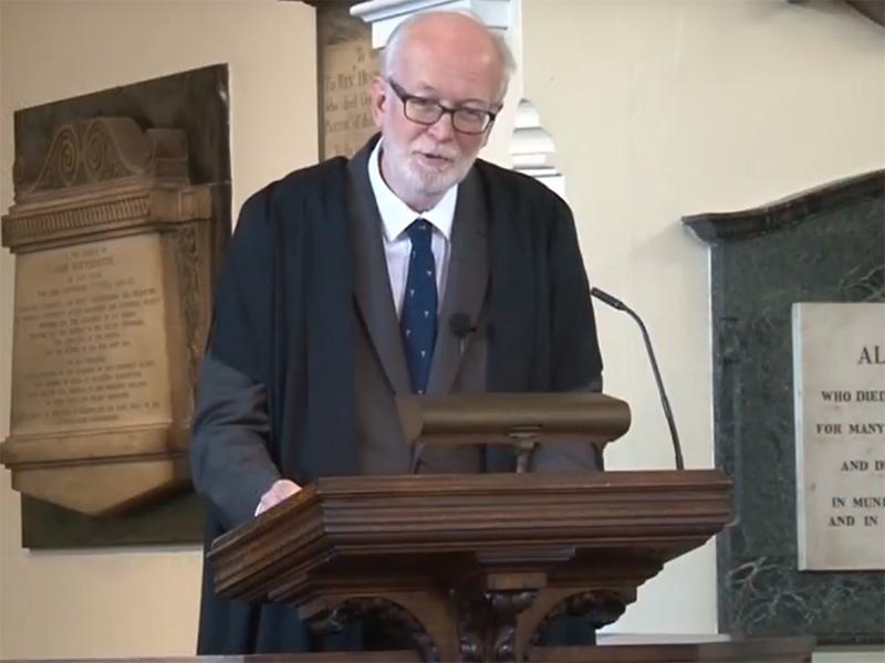 Leicester Unitarians Great Meeting Arthur Stewart