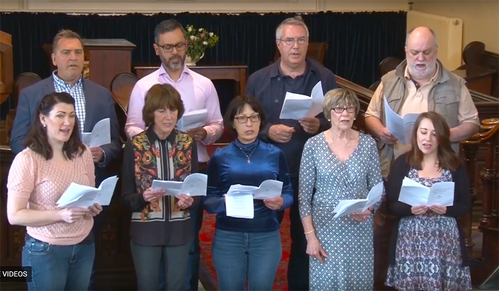 Leicester Unitarians Great Meeting choir
