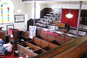Belper Chapel interior