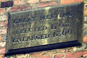 Great Meeting plaque