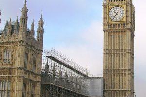 Palace of Westminster Clock Tower; 'Big Ben'
