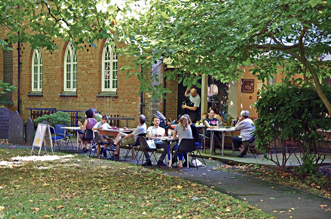 Leicester Unitarians Great Meeting Tea in the Garden