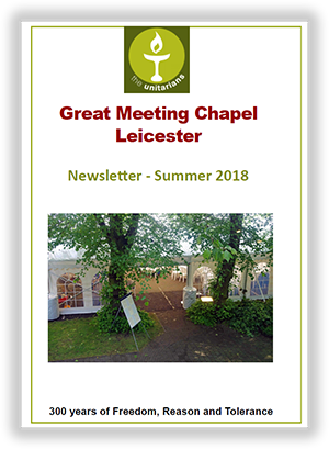 Leicester Unitarians Newsletter