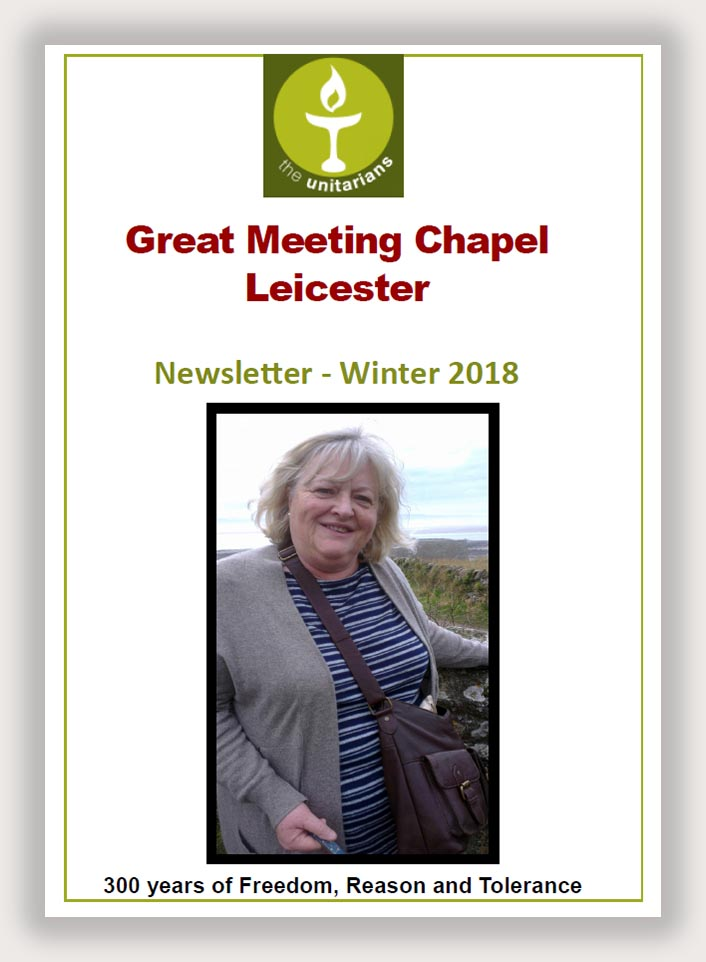Leicester Unitarians Great Meeting Newsletter Winter 2018