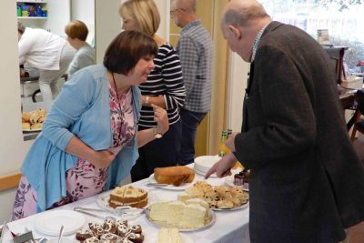 Leicester Unitarians autumn Tea in the Garden 2018
