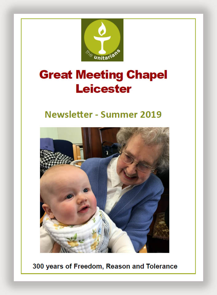 Leicester Unitarians Great Meeting Summer newsletter