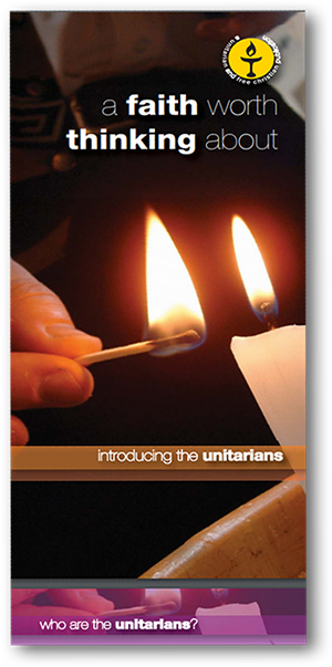 Leicester Unitarians Great Meeting Leaflet faith