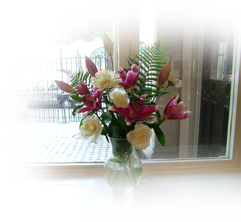 Leicester Unitarians Great Meeting flowers