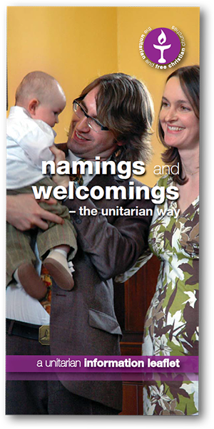 Leicester Unitarians Great Meeting Leaflet Namings