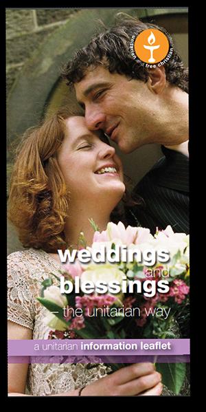 Leicester Unitarians Great Meeting Leaflet Weddings