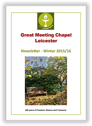 Leicester Unitarians Great Meeting newsletter Winter 2015
