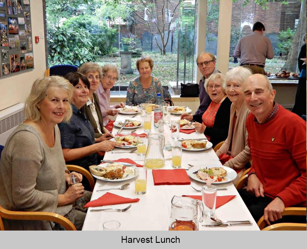 Leicester Unitarians Great Meeting meals