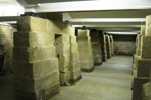 Strutt Mill basement