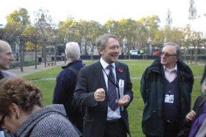 Chapel Chairman Sir Peter Soulsby MP