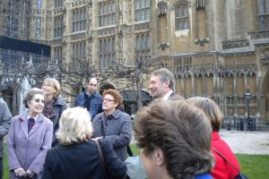 Sir Peter Soulsby with the Chapel Group