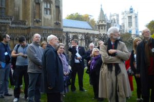 In the grounds of Westminster