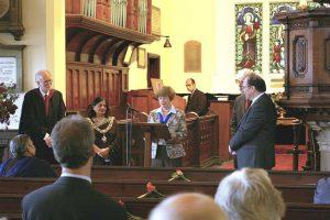 Minister Rev. Dr Arthur Stewart