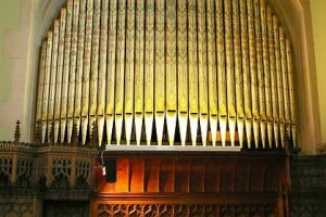 HMC Chapel organ pipes