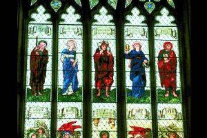 HMC Chapel window