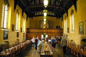 The Arlosh dining room, HMC