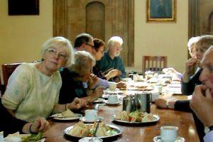 Tea at Christ Church College