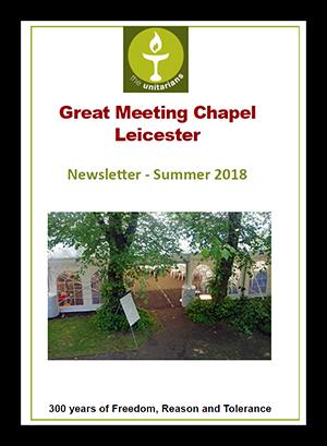 Leicester Unitarians Newsletter