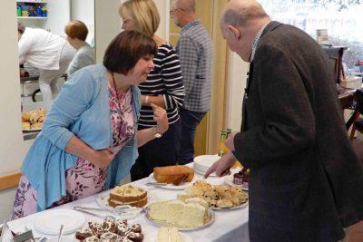 Leicester Unitarians autumn Tea in the Garden 2018