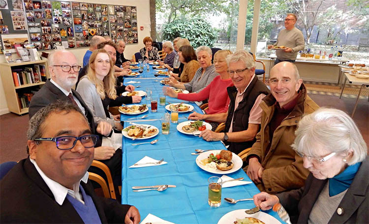 Leicester Unitarians Great Meeting Harvest Festival