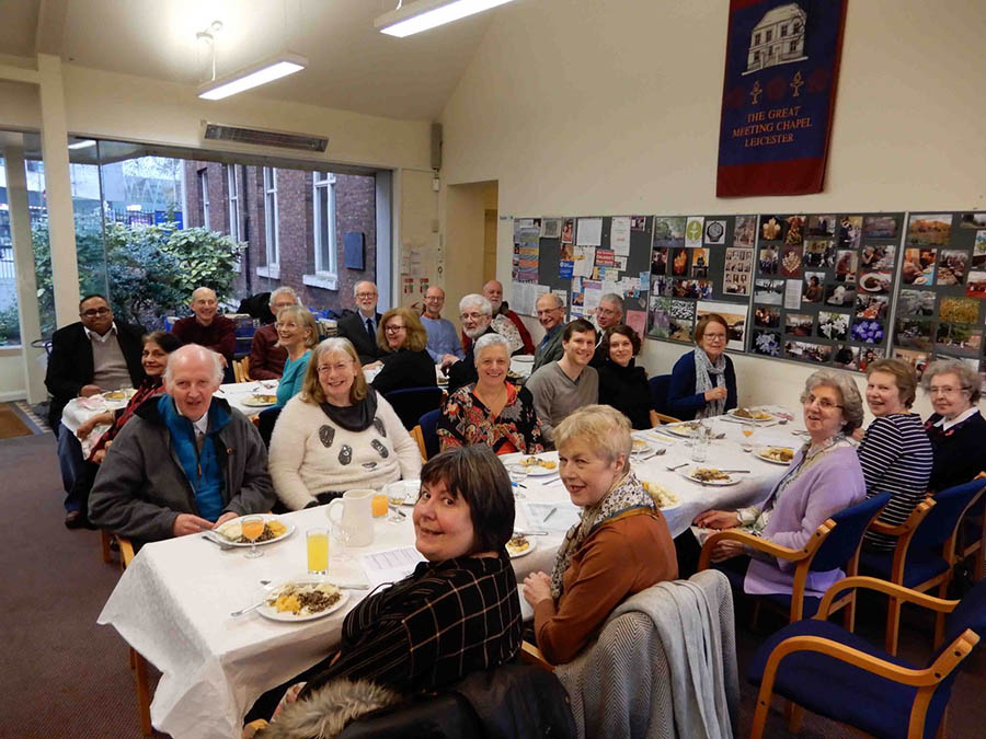 Leicester Unitarians Great Meeting Burns'Lunch