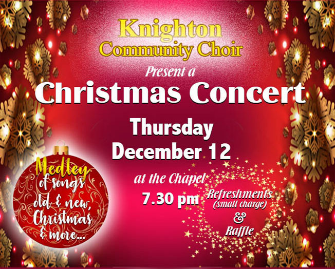 Leicester Unitarians Great Meeting Christmas concert