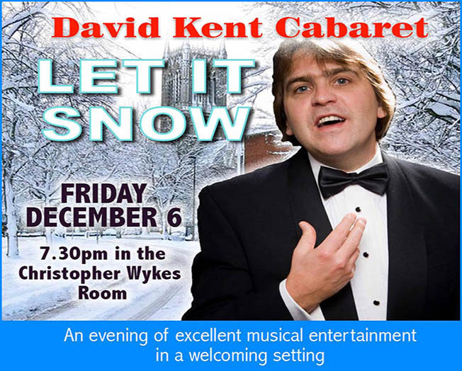 Leicester Unitarians Great Meeting Let it Snow concert