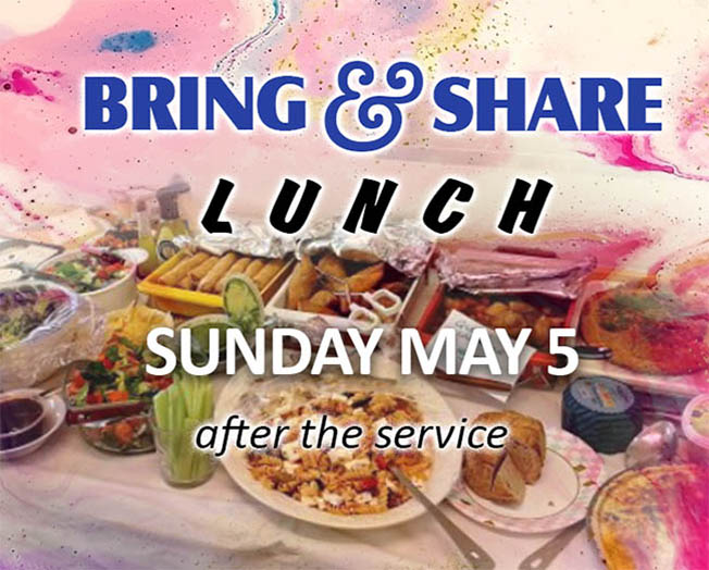 Leicester Unitarians Great Meeting Bring and Share lunch